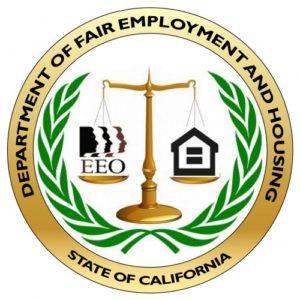 California Department of Fair Employment and Housing logo