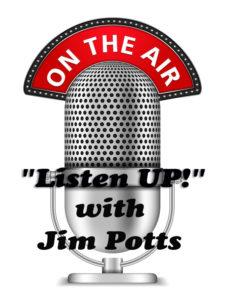 Listen Up with Jim Potts Logo